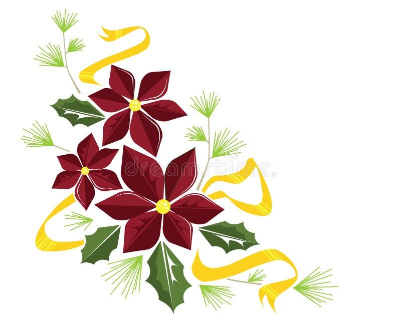 krusidulljulstjärna royaltyfri illustrationer