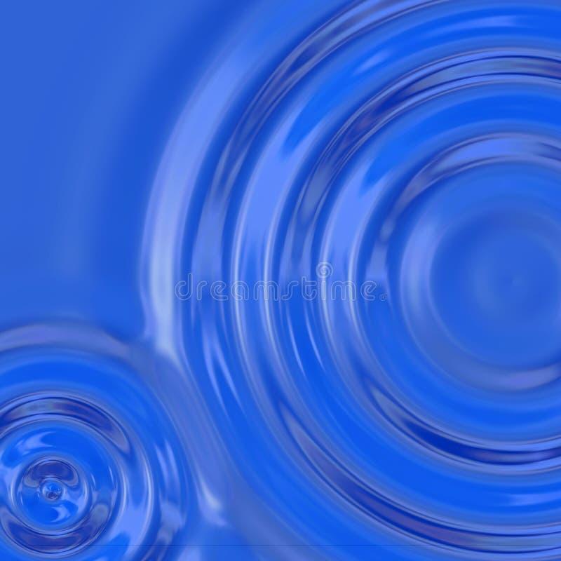 krusningsvatten royaltyfri illustrationer
