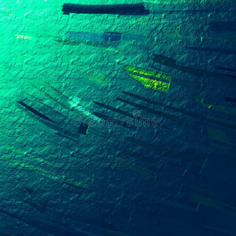 Kruszcowa malująca deska Gęsta farby grafika Dzisiejsza ustawa Rocznik farba muska tło Abstrakt barwiąca powierzchnia ilustracja wektor
