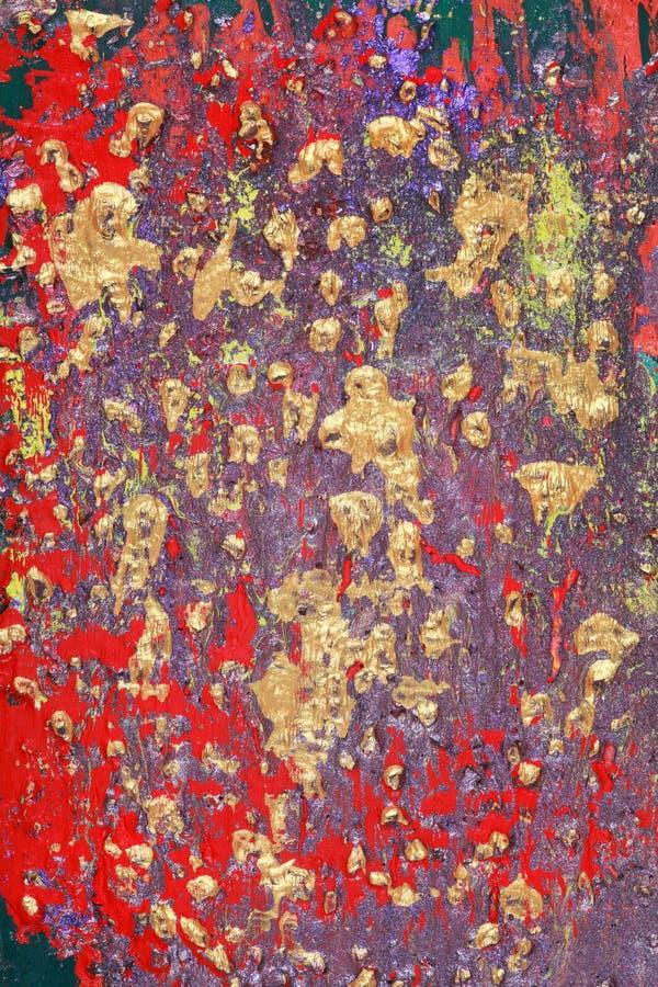 kruszcowy abstrakcjonistyczny tło zdjęcie stock