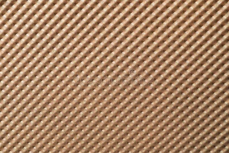 Kruszcowy brązowy barwiony tło z goniącą strukturą zdjęcie stock