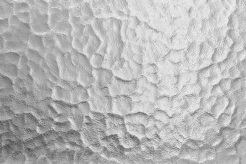 Kruszcowy foliowy tło Błyszczący metal srebnej folii tekstury abstrakta tło zdjęcia royalty free