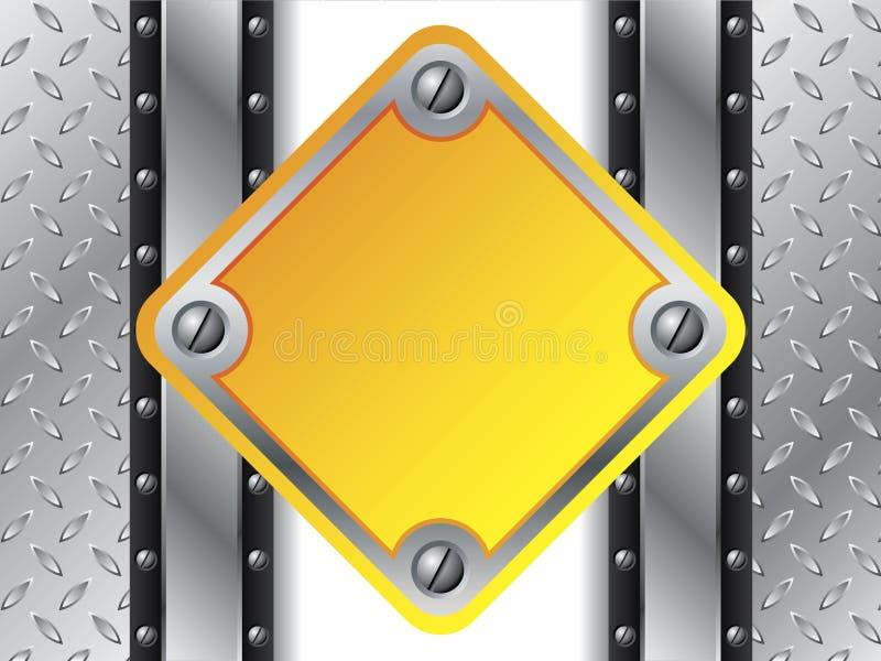 Download Kruszcowy Półkowy Kolor żółty Ilustracja Wektor - Ilustracja złożonej z przemysłowy, niebezpieczeństwo: 13333019