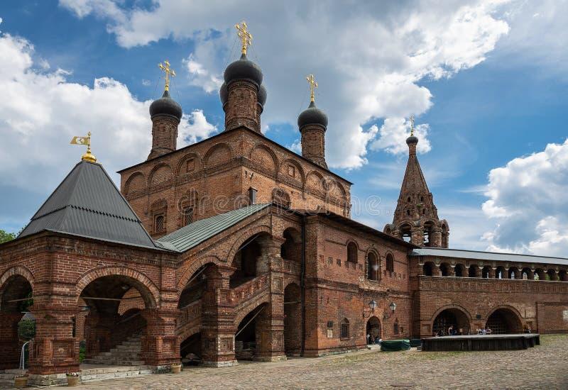 Krutitsy antiguo Metochion patriarcal en Moscú foto de archivo libre de regalías