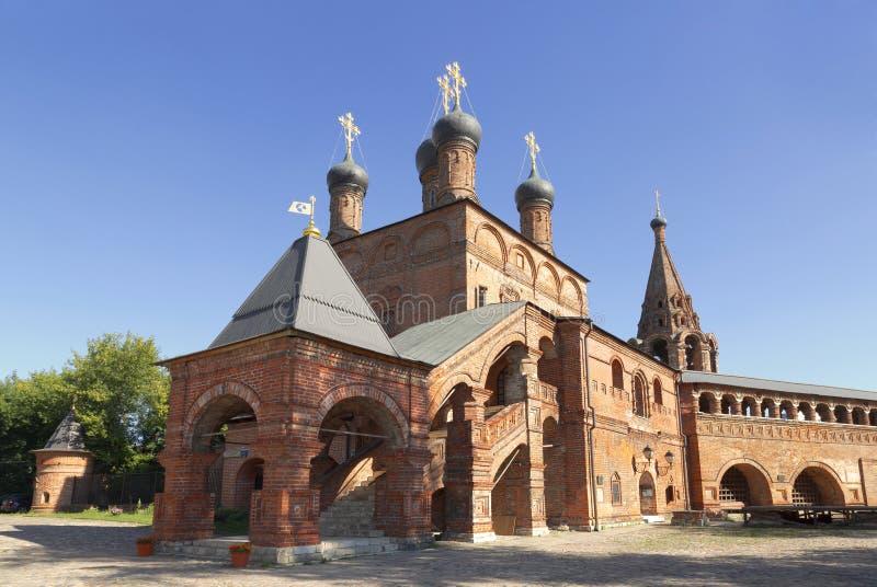 Krutitsy Metochion Русской православной церкви стоковая фотография