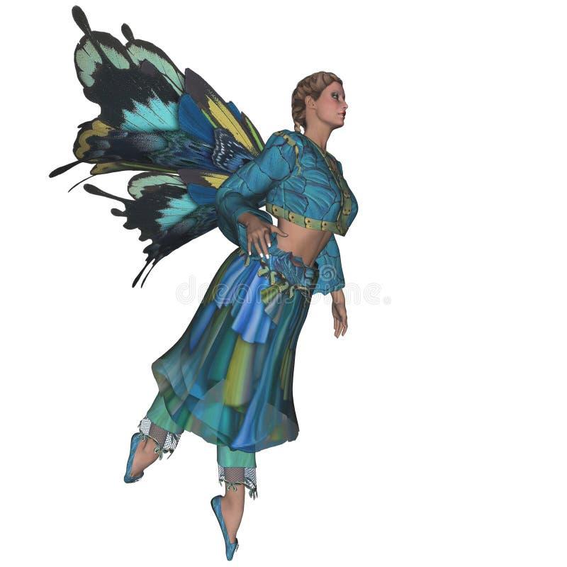KRW μπλε Faerie ελεύθερη απεικόνιση δικαιώματος