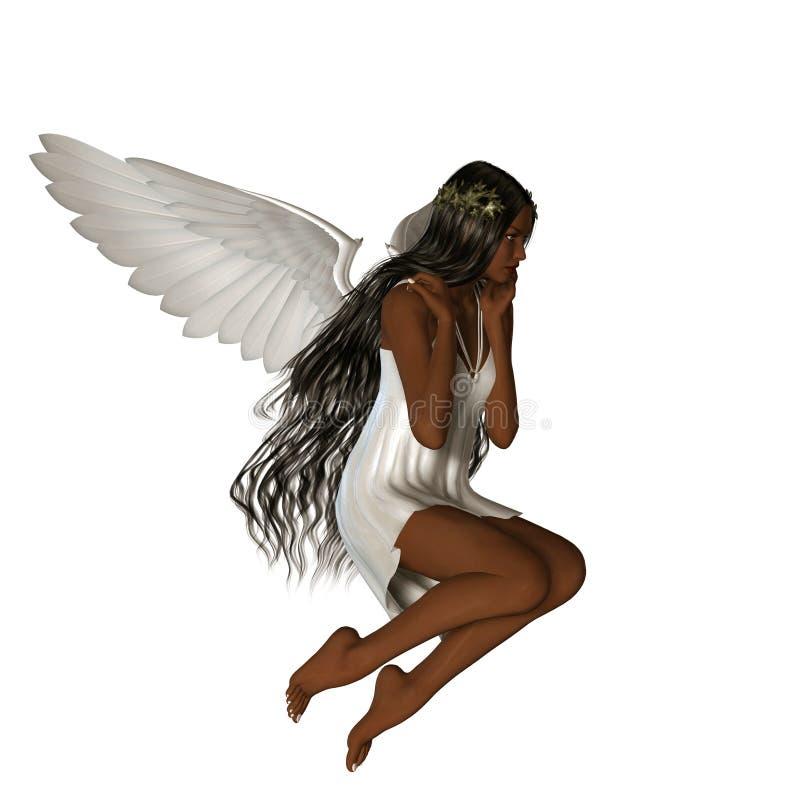 KRW Angel AA royalty free stock photo