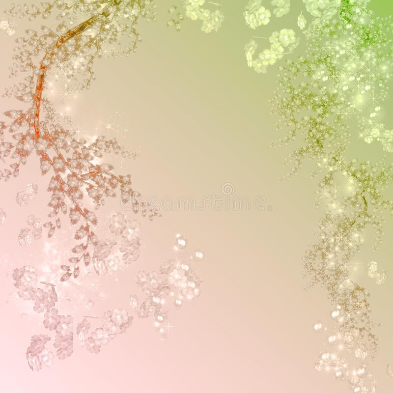 KRW-Fantasie-Hintergrund stockbild