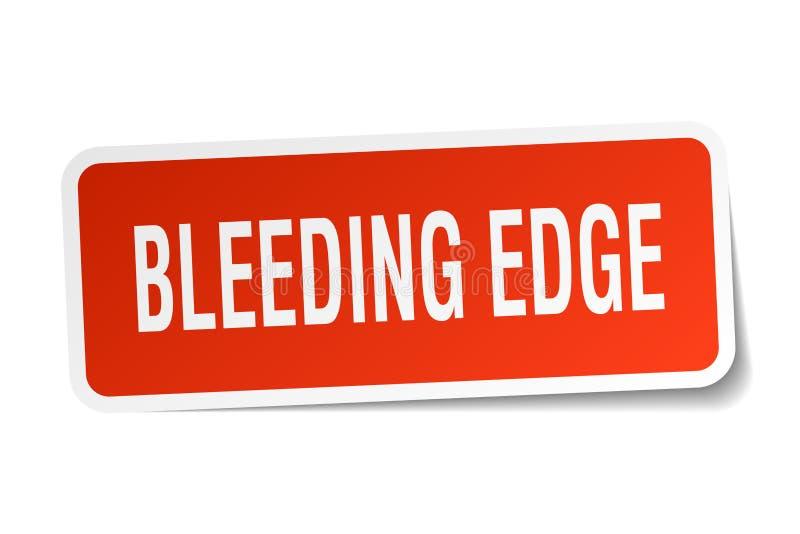 krwawiący krawędź majcher ilustracja wektor