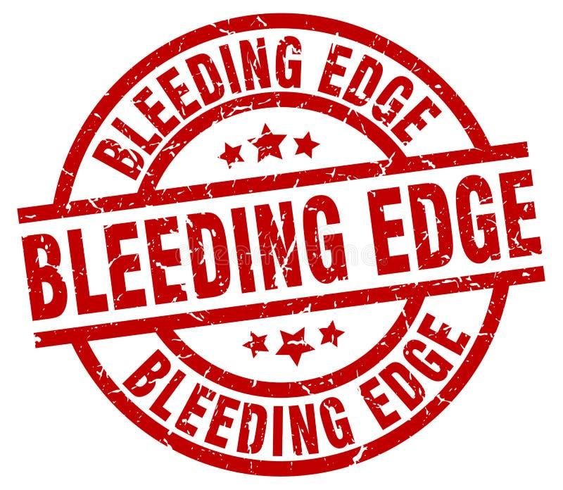 Krwawiący krawędź znaczek royalty ilustracja