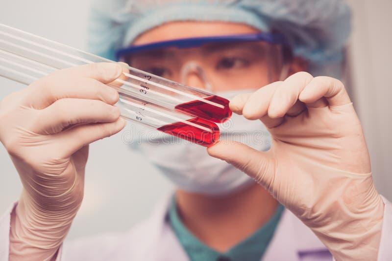 Krwionośna analiza fotografia royalty free