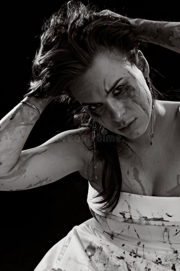 krwionośna kobieta obraz stock
