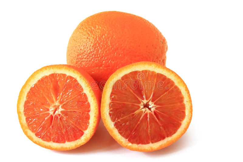 Krwionośna pomarańcze (cytrusa x sinensis) obrazy royalty free