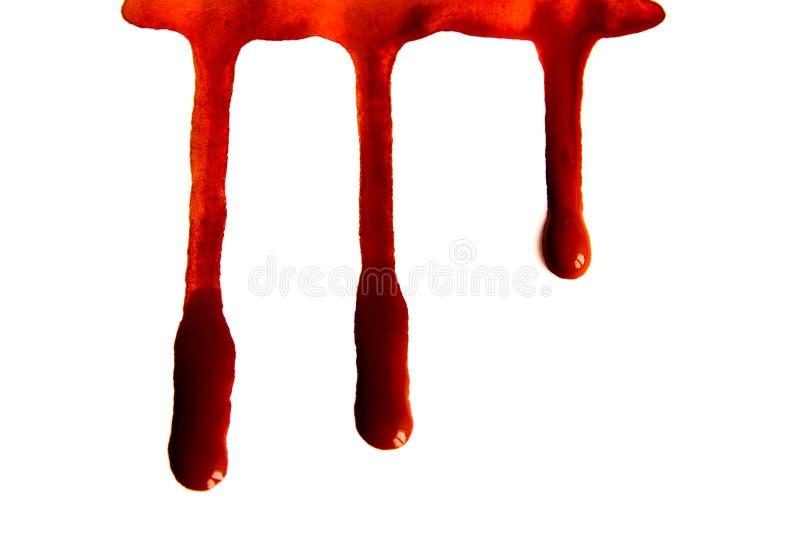 Krwionośne plamy zdjęcie stock