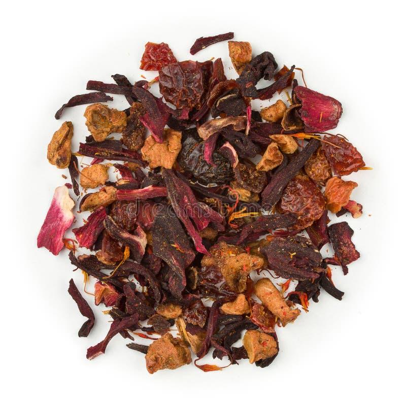 Krwionośnej pomarańcze herbata fotografia stock