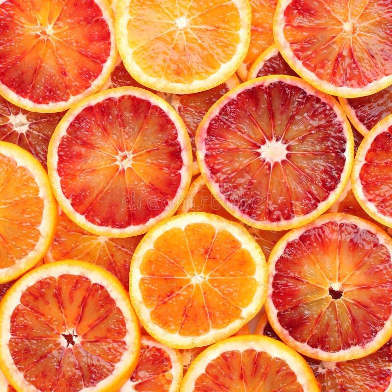 Krwionośnej pomarańcze tło obraz stock
