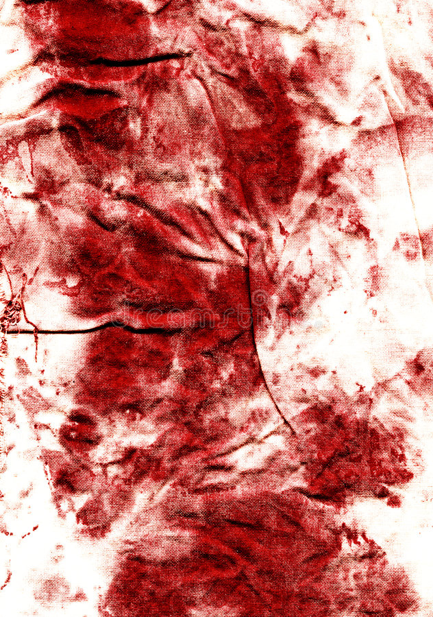 krwionośnej tkaniny stare plamy zdjęcie royalty free
