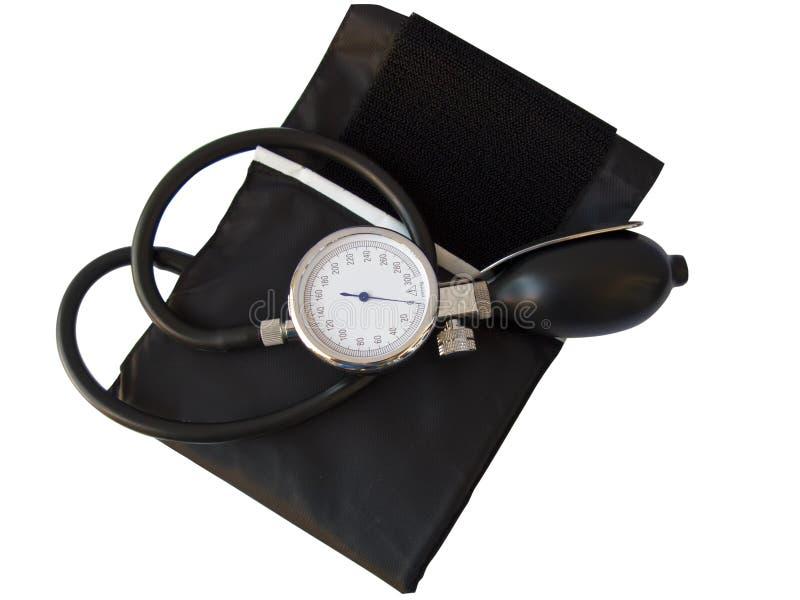 krwionośny ścinku ścieżki naciska sphygmomanometer fotografia stock