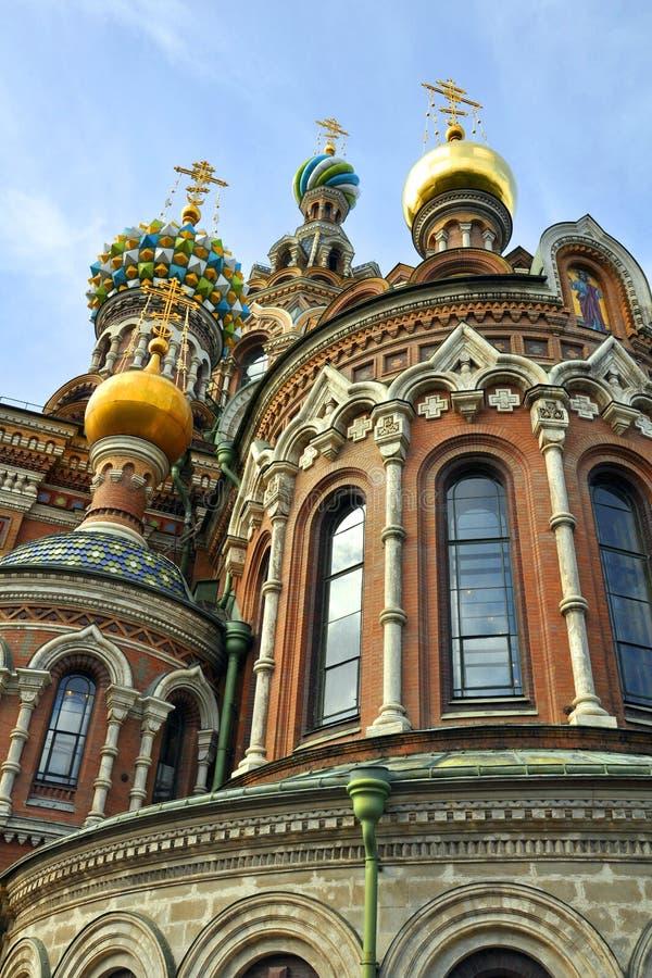 Krwionośny Kościelny Petersburg Wybawiciel Rozlewający St Fotografia Royalty Free