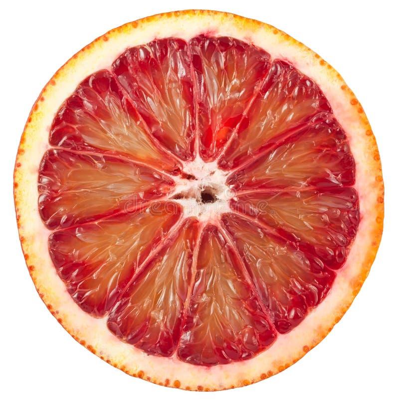 krwionośny pomarańczowej czerwieni plasterek zdjęcie stock