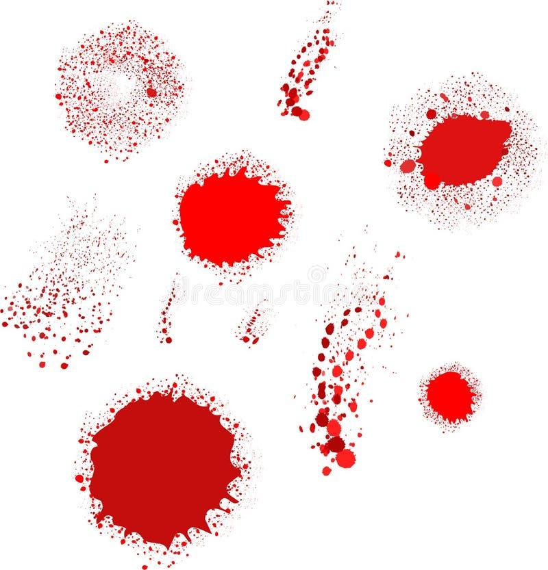 Download Krwionośna tekstura ilustracja wektor. Obraz złożonej z horror - 23761912