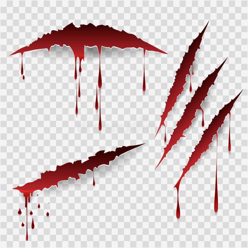 Krwiste narys oceny ilustracji