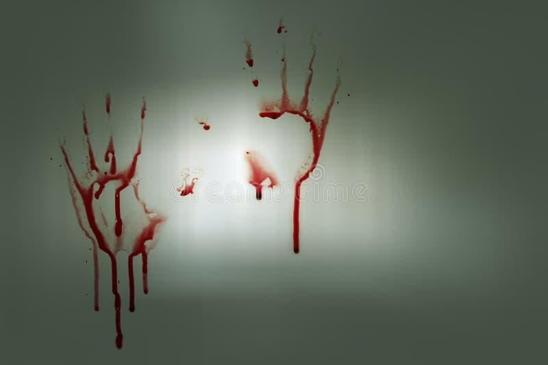 krwiste ręki zdjęcie royalty free