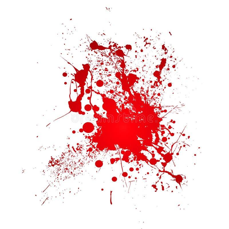 krwisty splat royalty ilustracja