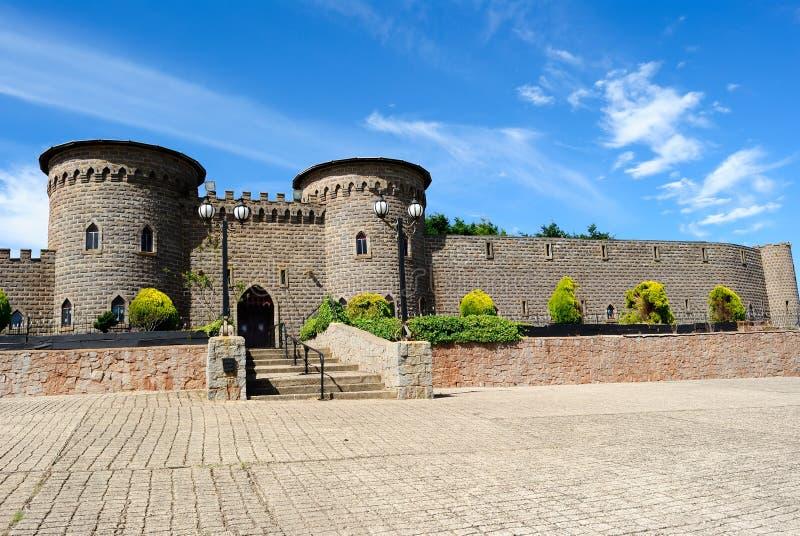 Kryal Schloss, außerhalb Ballarat, eine mittelalterliche Art lizenzfreies stockbild