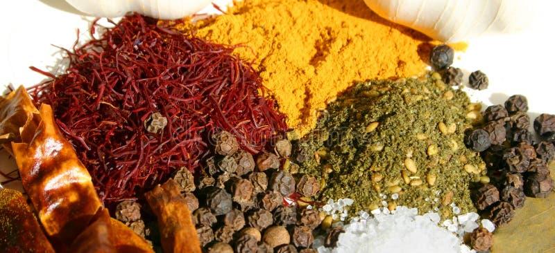 krydda för 4 mix arkivfoton
