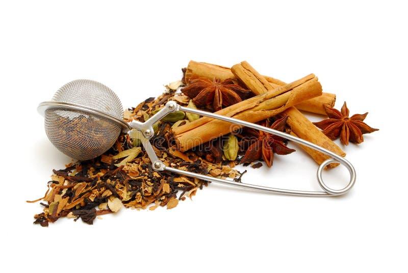 kryddad tea för svart indier royaltyfria foton