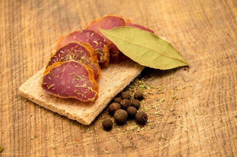 kryddig meat fotografering för bildbyråer
