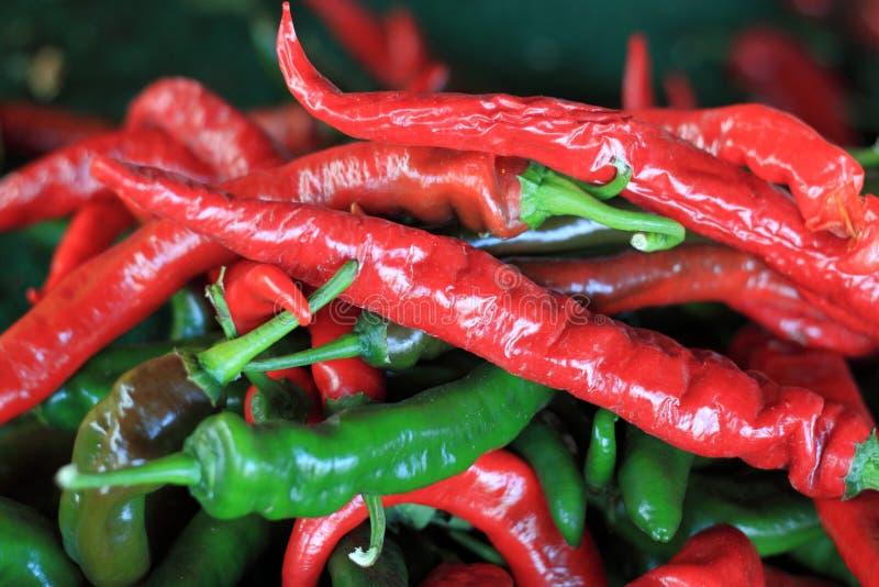 Kryddig peppar arkivbilder