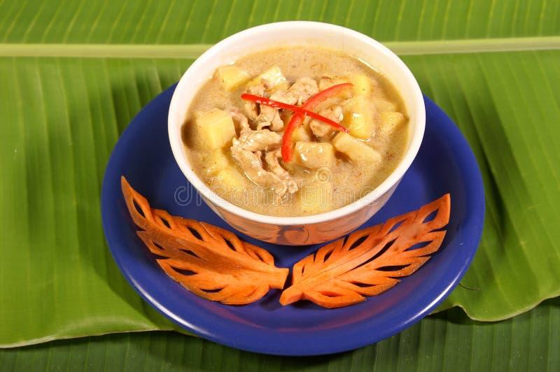 kryddigt thai för mat royaltyfri fotografi