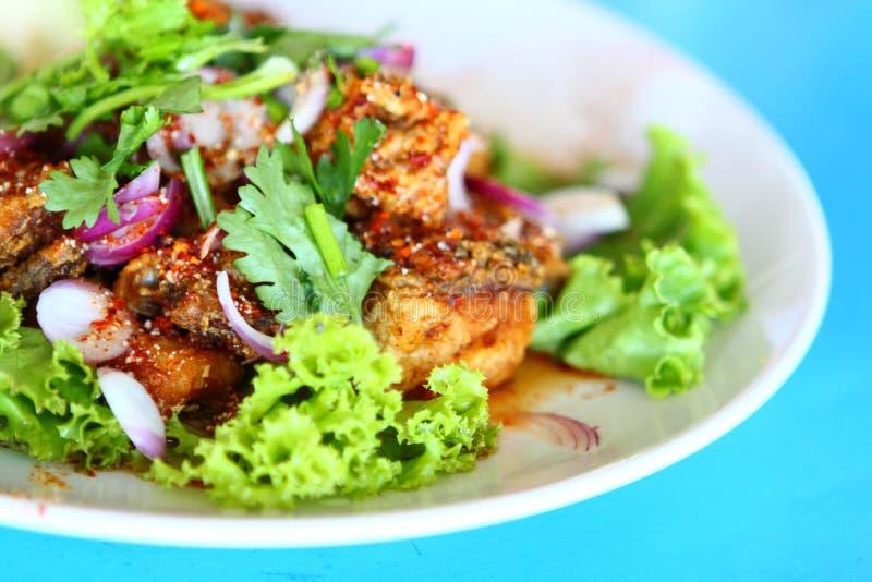 kryddigt thai för mat arkivfoton
