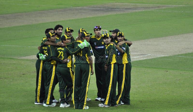 krykieta Pakistan drużyna obraz stock