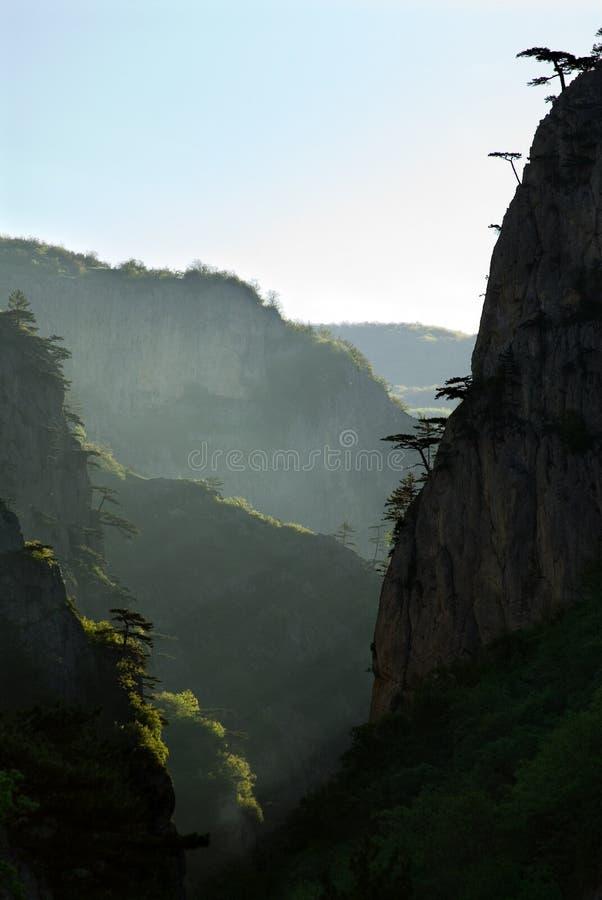 Krym grand canyon fotografia stock