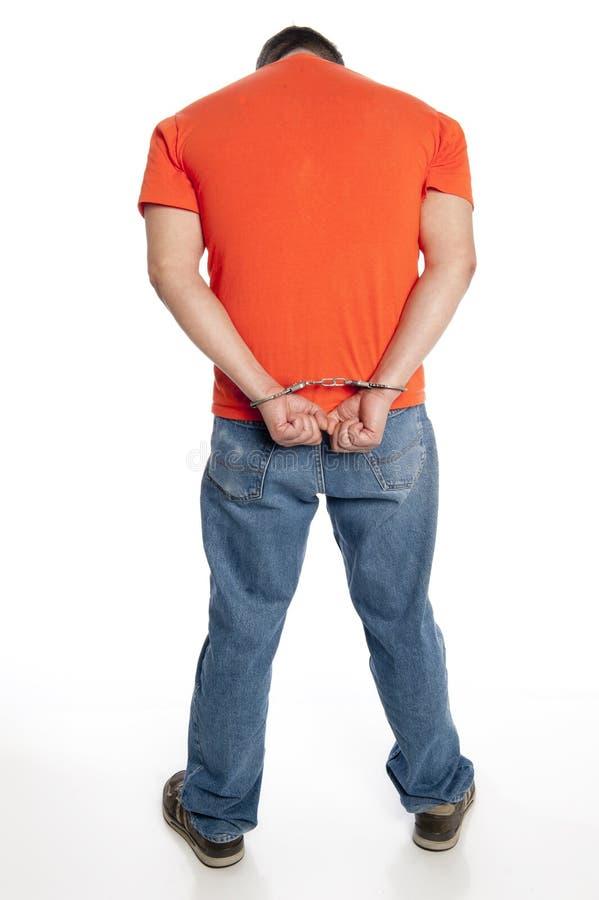 kryminalni kajdanki obraz stock