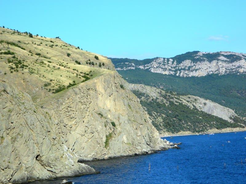 Krymski krajobraz na Balaklava fotografia royalty free