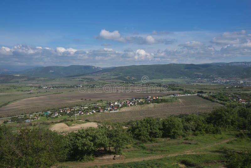Krymski półwysep w wiośnie fotografia royalty free