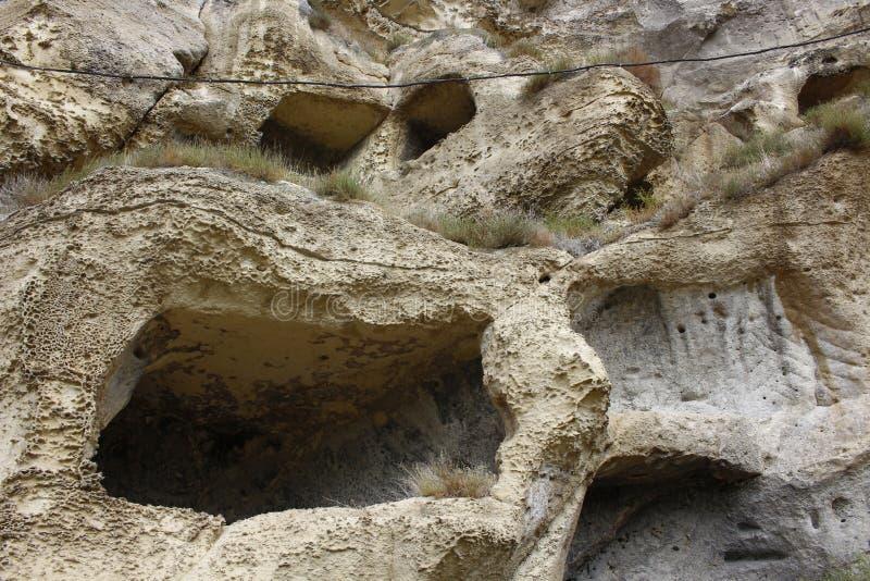 Krypten der ersten Christen in Krim stockbilder