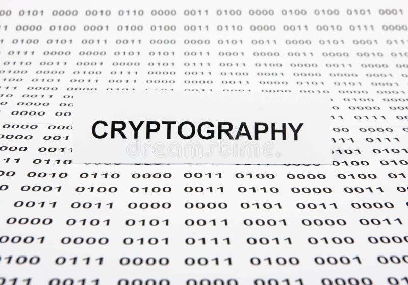 kryptografia fotografia stock
