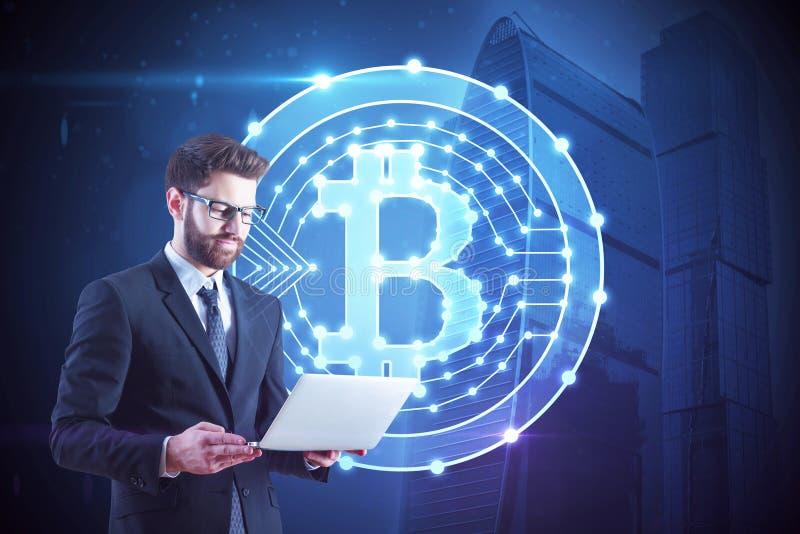 Kryptografii i biznesu pojęcie obraz stock