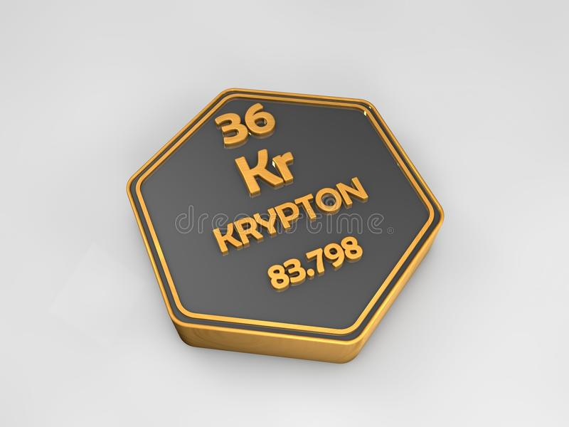 Krypton kr chemical element periodic table hexagonal shape stock download krypton kr chemical element periodic table hexagonal shape stock illustration illustration of urtaz Choice Image