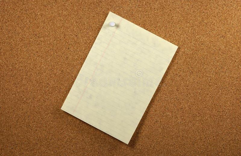 kryssat papper royaltyfri fotografi