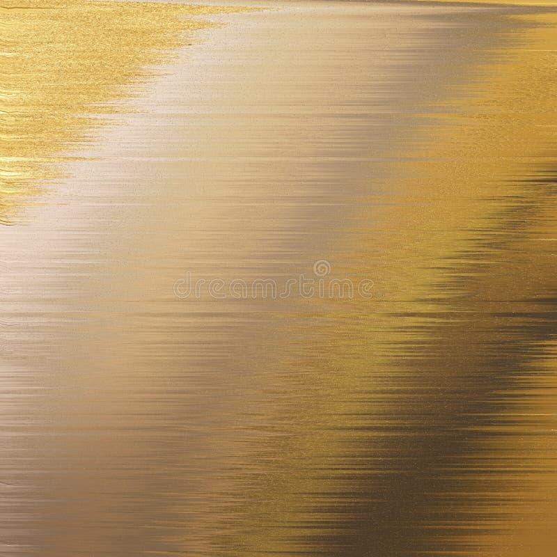 Kryssfaner texturerad konst Blänka lappen på yttersida Guld- tonat träbräde royaltyfri bild