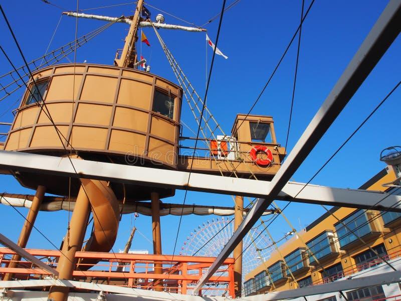 Kryssningskepp Osaka Kansai Japan Travel arkivbild