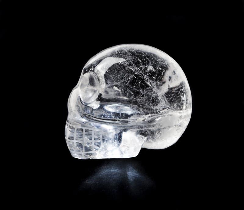 krystaliczna czaszka fotografia stock