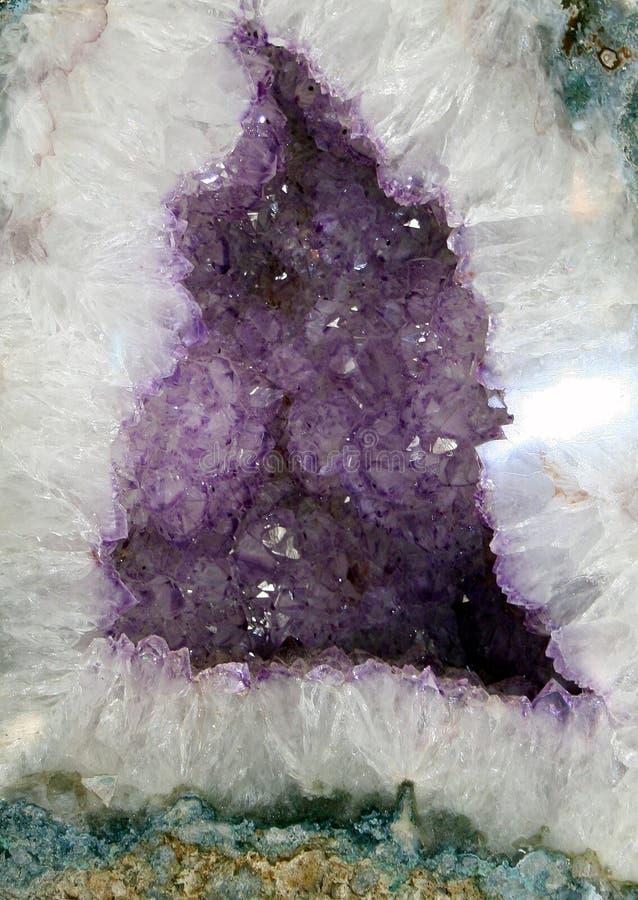 krystaliczna geoda obrazy stock