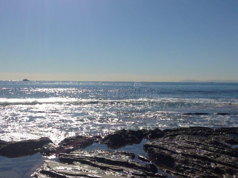 Krystaliczna zatoczka Kalifornia zdjęcia royalty free